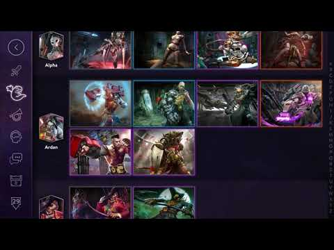 VAINGLORY - All Heroes And Skins Unlocked Since The First Petal Limited Edition)