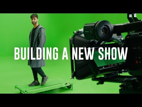BUILDING A BRAND NEW SHOW - R3HAB Vlog #6