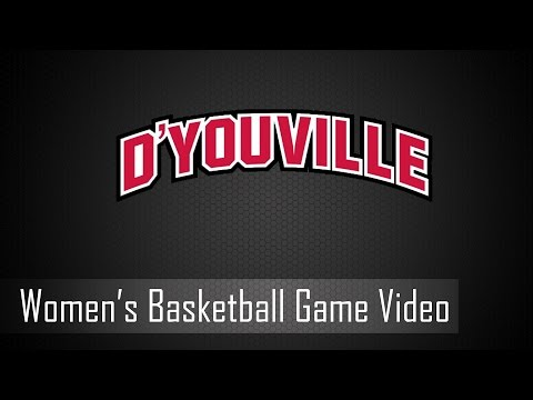 D'Youville Women's Basketball: SUNY Canton @ D'Youville - 11/27/16