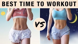Best Time To Workout To LOSE Weight & BURN BELLY FAT | Ab Workouts, HIIT