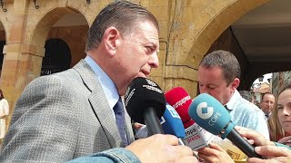 El alcalde de Oviedo, Alfredo Canteli (PP) opina sobre lo ocurrido en las fiestas de La Florida