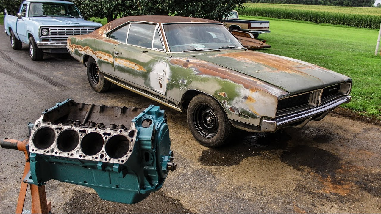 1969 DODGE CHARGER 440 BUILD!