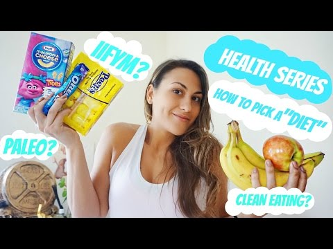 """HOW TO PICK A """"DIET"""" 