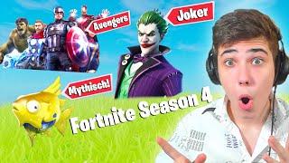Fortnite Season 4 wurde GELEAKT! (Mythischer Flopper, Joker..)