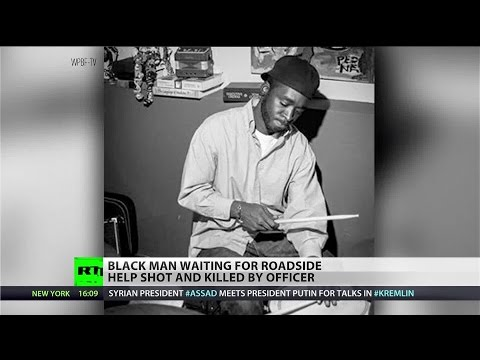 Black musician killed by plainclothes officer while waiting for roadside assistance