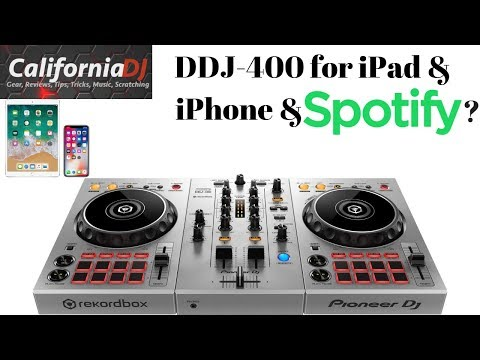 DDJ-400 for iPad & iPhone & Spotify!?!