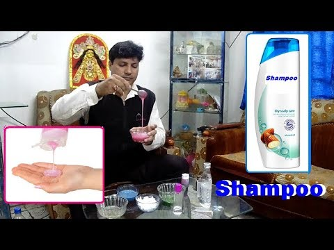 Shampoo making commercial recipes How to make Shampoo  Shampoo making Easy  and Quick Way