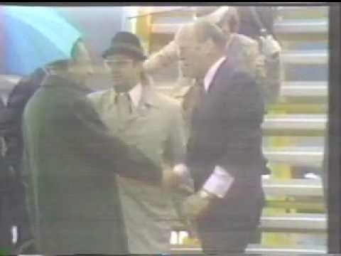 President Gerald Ford Trips And Falls