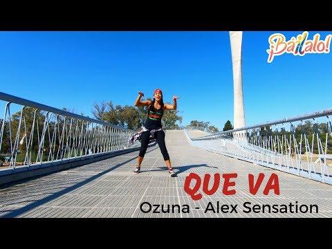 QUE VA - Alex Sensation, Ozuna.  Coreography Fabiola Aponte Coreografía Zumba