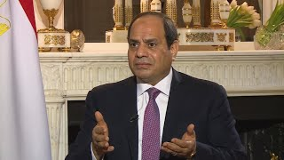 Egypt's Sisi: 'There are countries who are supporting terrorism'