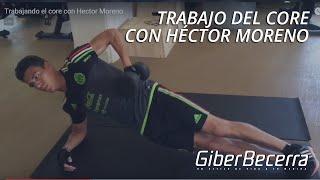 Ejercicio para abdomen con Héctor Moreno