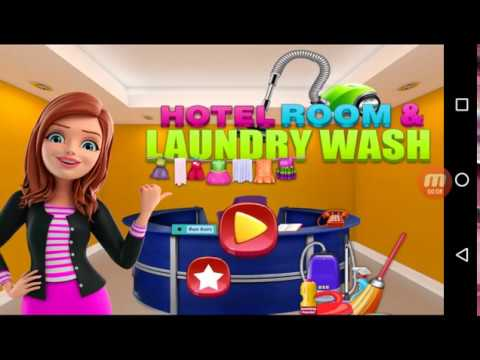 Hotel Room And Laundry Wash - Android Gameplay