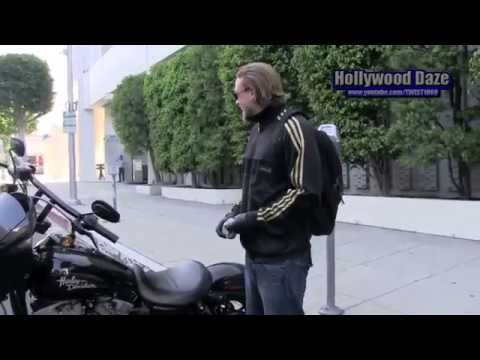 Charlie Hunnam Star of Sons of Anarchy and Twist