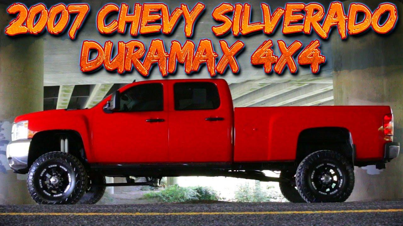 2007 chevrolet silverado lifted duramax 4x4 northwest motorsport
