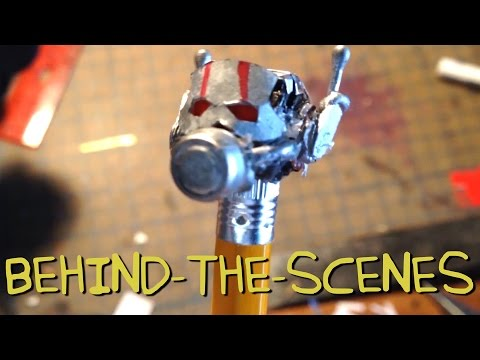 Ant-Man Trailer – Homemade Behind the Scenes