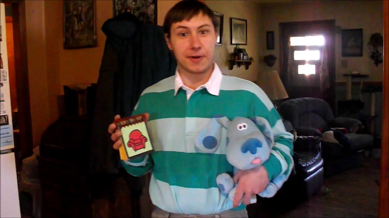 Me As Steve From Blues Clues At Comic Con Youtube