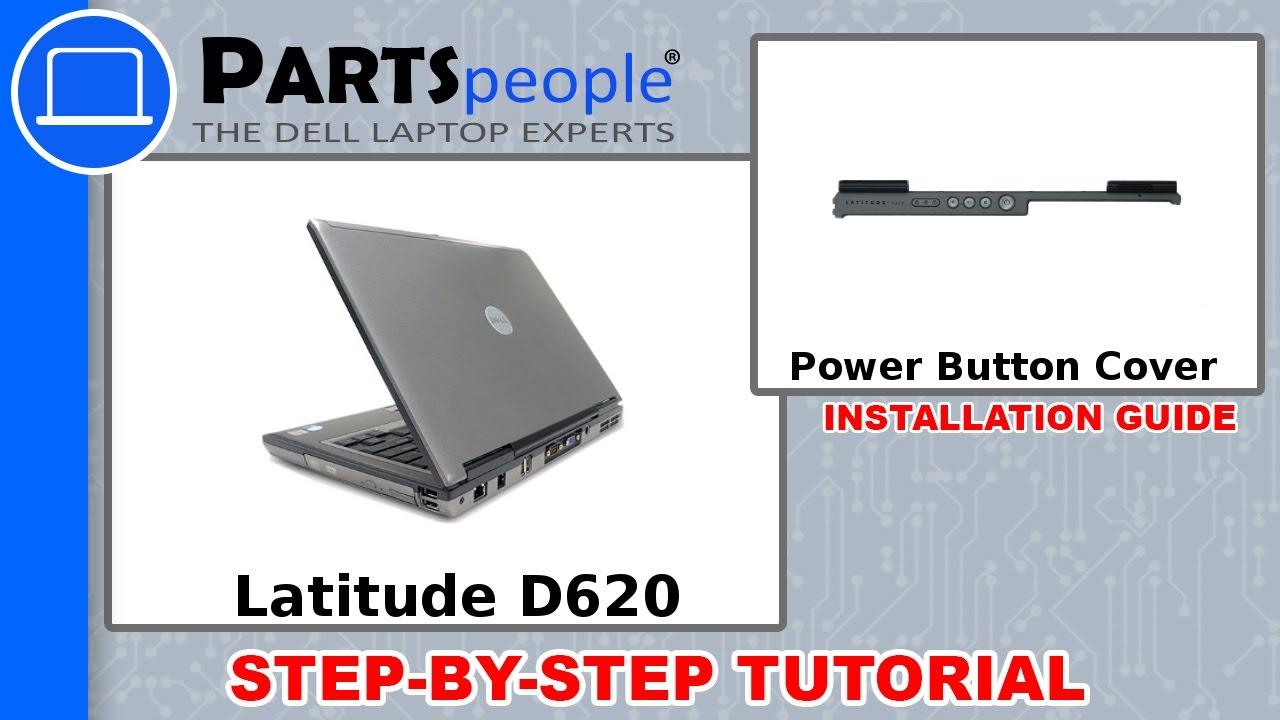 dell latitude d620 pp18l power button cover how to video tutorial rh youtube com Dell E6420 Dell D620 Memory