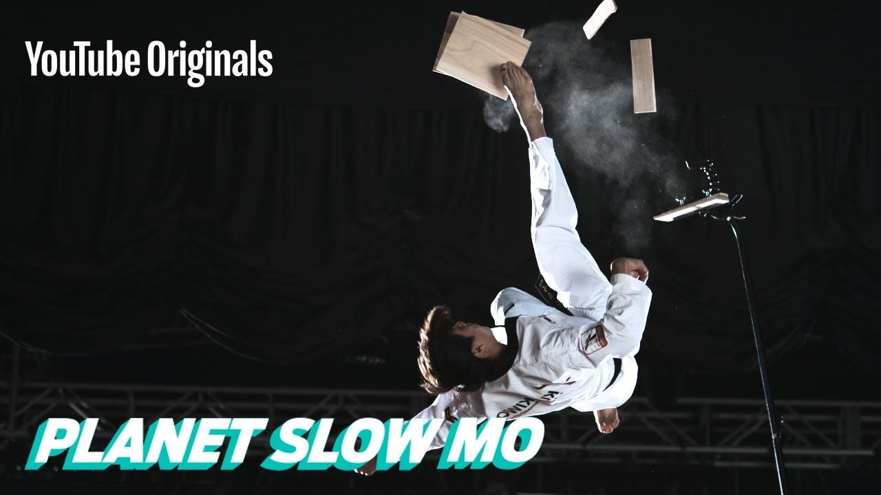 Insane Taekwondo stunts in 4K Slow Motion #1
