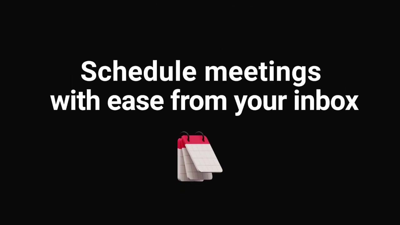 Schedule meetings directly from Gmail