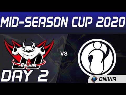 JDG Vs IG Highlights Day 2 Mid Season Cup 2020 JD Gaming Vs Invictus Gaming By Onivia