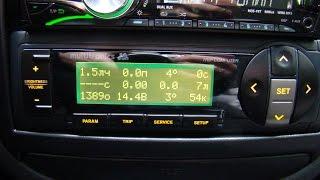 Бортовой компьютер multitronics SL 50V (SE 50V) daewoo lanos деу ланос