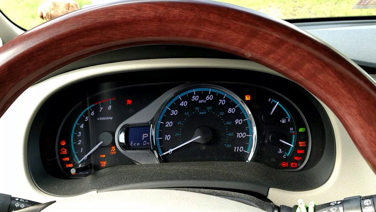 How To Reset Maintenance Light On Toyota Sienna 2017 Decoratingspecial Com