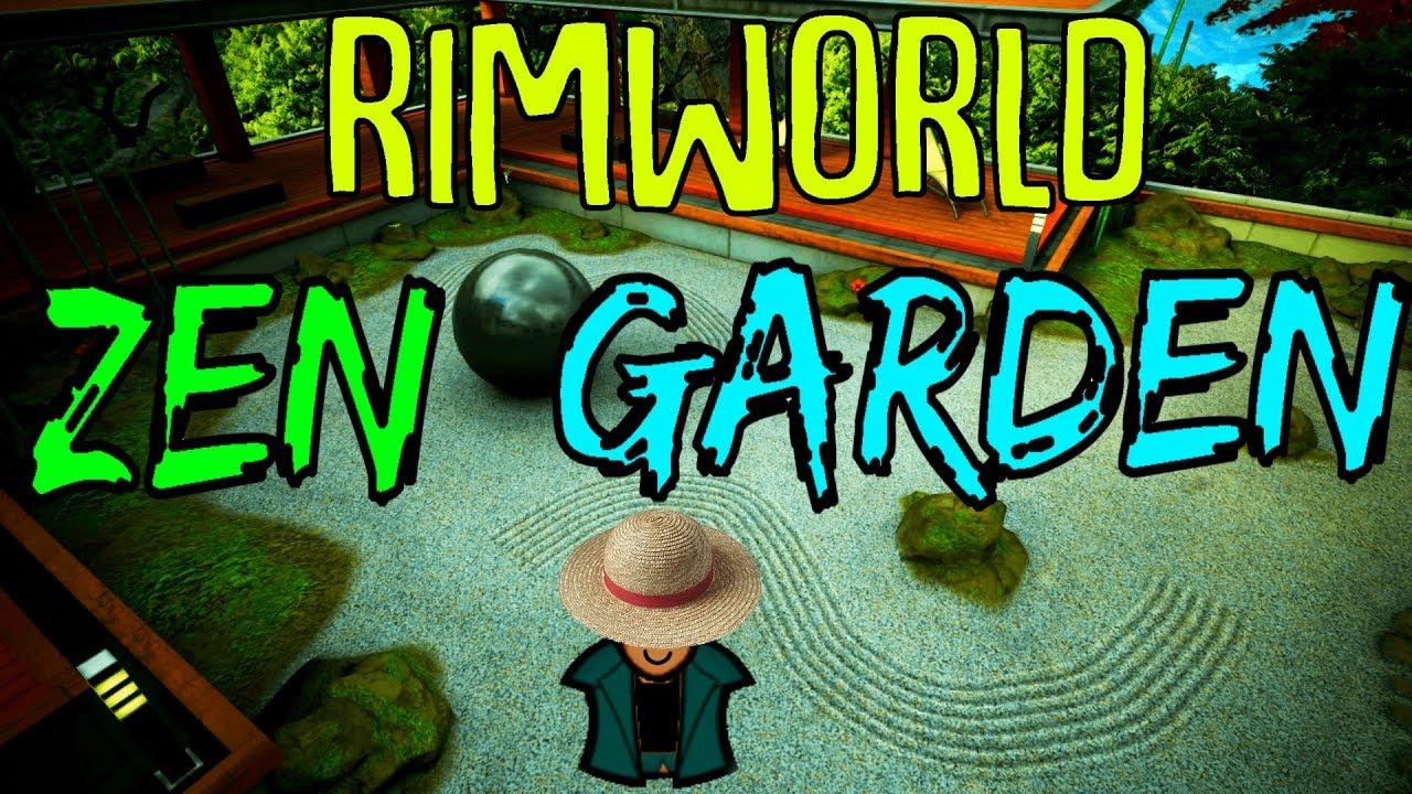 Zen garden rimworld mod showcase beautiful ornaments fountains