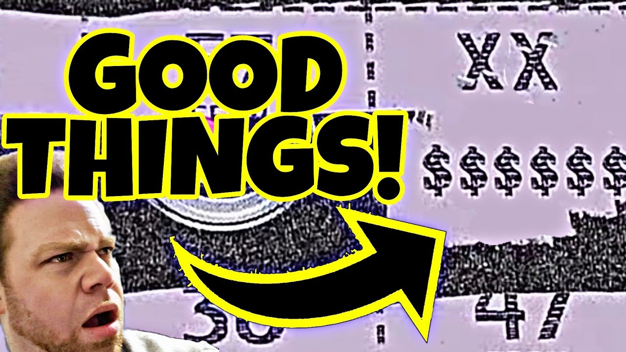 When you see THIS SYMBOL on this lottery ticket, it means GOOD THINGS HAPPEN!