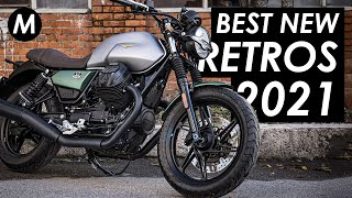 28 Best New \u0026 Updated Retro Motorcycles For 2021!