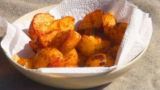 Yummy Childrens Recipe - Amazing Potato Wedges With Chef Kenton!