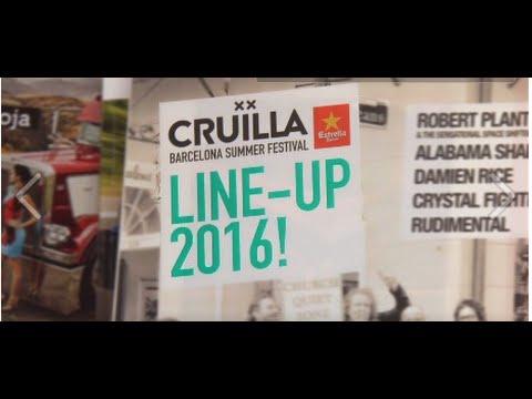 Festival Cruïlla - Line Up 2016