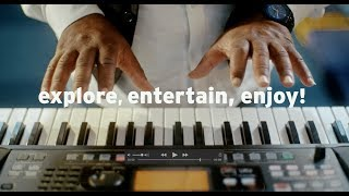 KORG EK-50: Explore, entertain, enjoy!