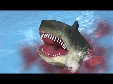 Minecraft | SHARK WEEK CHALLENGE - Hunting for Jaws (SHARKS, JAWS, MODS)