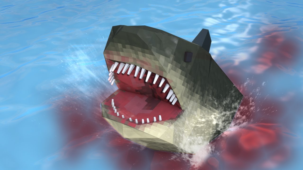 Minecraft | SHARK WEEK CHALLENGE - Hunting for Jaws (SHARKS, JAWS, MODS) - YouTube