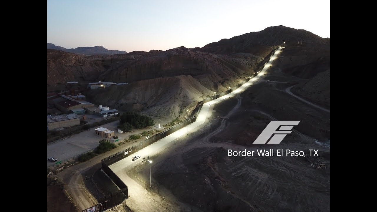Fisher Border Wall El Paso Tx Sunland Park Nm Youtube