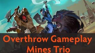 Dota 2 Custom Games - Overthrow Gameplay (Mines Trio)