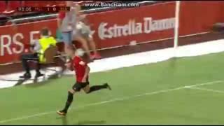 Brandon Thomas Goal - Mallorca vs. Reus Deportiu 1-0 - Copa del Rey 2016 - 07/09/2016