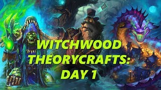 Witchwood Deck Building: Day 1