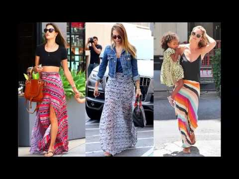 Long summer skirts ideas 2017