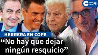 """Herrera y el """"cinismo"""" del PSOE: """"Ha gastado dinero público en prostíbulos y cocaína"""""""