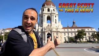 PASADENA CALIFORNIA TOUR - Visiting The Pasadena City Hall , The Gamble House , Caltech and More