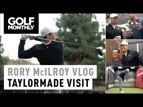 Rory McIlroy Vlog I TaylorMade HQ Visit I Golf Monthly