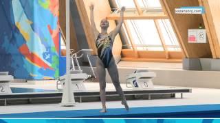 Чемпионат России по синхронному плаванию. Утренняя сессия. 27.04.2014
