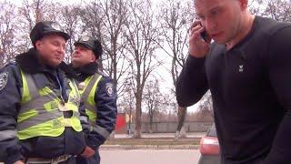 Водитель из Польши - заложник ГАИ Украины.