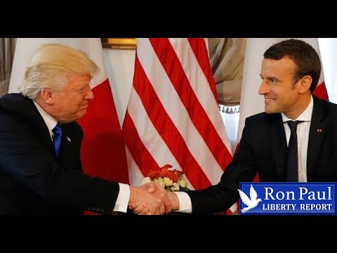 Macron Changes Trump's Tune: 'We're Staying In Syria'