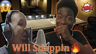 Will Smith Messing around in the studio (Official Video)-REACTION🔥🔥🔥