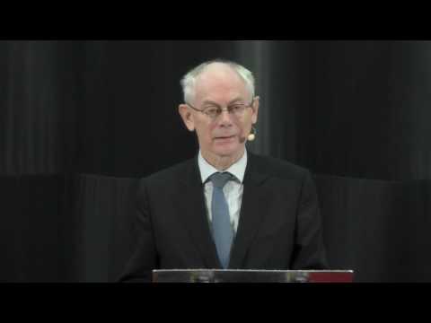 The EU is still an innovative idea | Herman van Rompuy | TEDxSittardGeleen