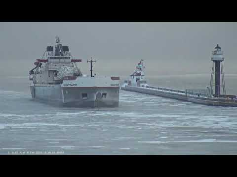 Manitowoc arrived Duluth 12/29/2018