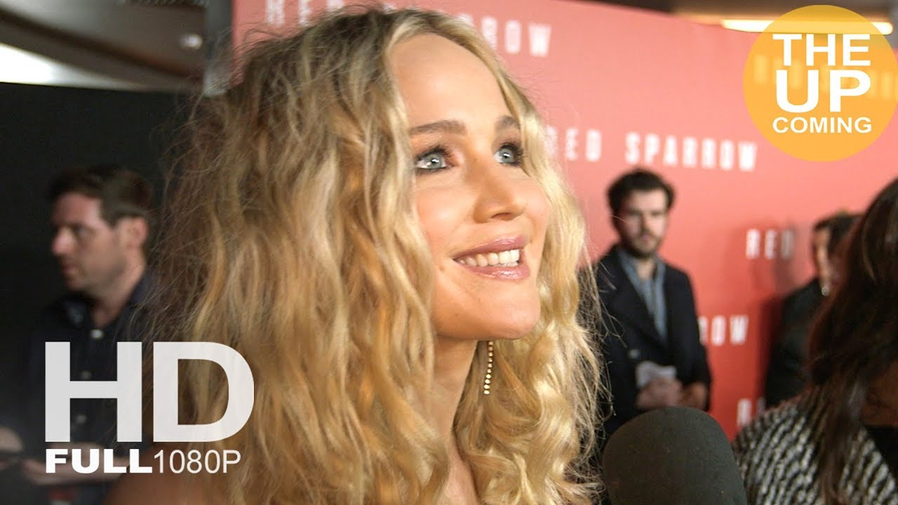 Jennifer Lawrence interview at Red Sparrow premiere in London - YouTube