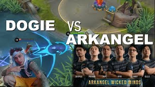 AETHER DOGIE vs WICKED MINDS ARK ANGEL - MOBILE LEGENDS - 2000 DIAMONDS GIVEAWAY - RANK GAME